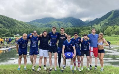 "All France Plays ""Tambo"" Rugby in Hakuba"